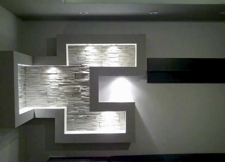 decoración con piedra artificial 2