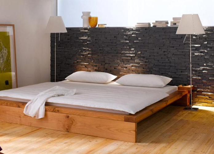 Grandes ideas para decorar el dormitorio con piedra - Ideas para decorar el dormitorio ...